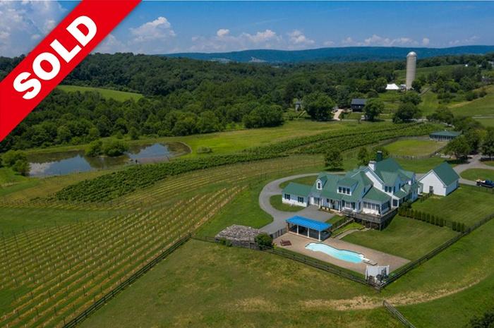 Beautiful Virginia Winery